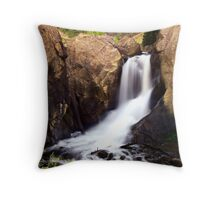 Boulder Falls #1 Throw Pillow