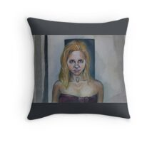Who Are You? - Buffy/Faith - BtVS Throw Pillow