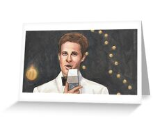 Superstar - Jonathan - BtVS Greeting Card