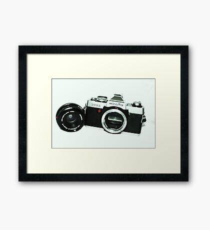 Minolta XG1 Framed Print
