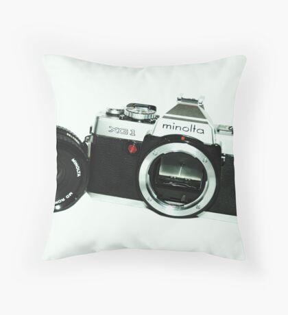 Minolta XG1 Throw Pillow