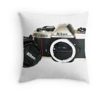 Nikon FM10 Throw Pillow
