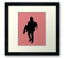 """You're gonna miss me when Im gone, Daryl Dixon"" Framed Print"