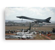 B1 Take-off @ Avalon Airshow Canvas Print
