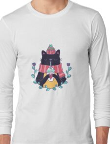 Winter cat Long Sleeve T-Shirt