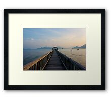 Tranquil Sea Framed Print