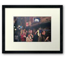 Blurry Life Framed Print