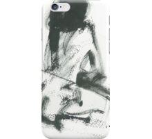 model in studio iPhone Case/Skin
