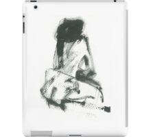 model in studio iPad Case/Skin