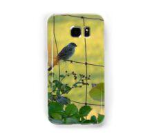 Birds on a Wire Samsung Galaxy Case/Skin