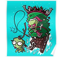 Zim Stole Xmas Poster