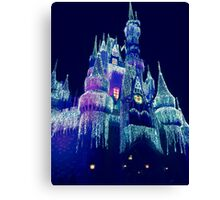 Icy Castle Canvas Print