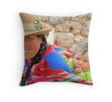 Amazing Perú !!! Throw Pillow