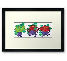 ODD BALLS Framed Print
