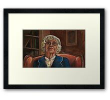 Where the Wild Things Are - Old Lady - BtVS Framed Print