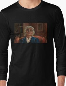 Where the Wild Things Are - Old Lady - BtVS Long Sleeve T-Shirt