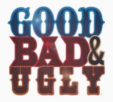 Good Bad & Ugly Kids Tee