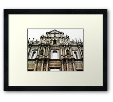 Ruins of St. Paul's © Framed Print