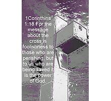 Foolishness or Salvation Photographic Print
