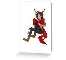 Christmas Harry Greeting Card