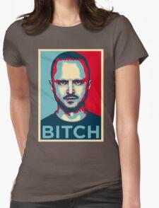 JESSE PINKMAN   BITCH Womens Fitted T-Shirt