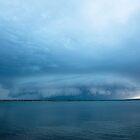 Late November Storm - Pumicestone Passage by Barbara Burkhardt