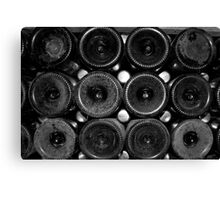 Stacked Bottles Canvas Print