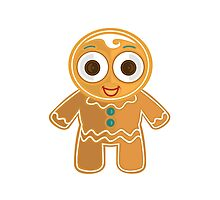 Ginger Bread Man Photographic Print