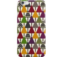 forest geo trees light iPhone Case/Skin