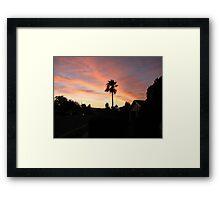 suburban paradise Framed Print