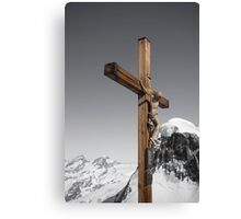 Cross up high Canvas Print