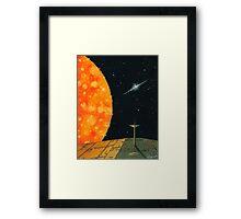 SOLAR PASSAGE Framed Print