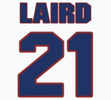 National Hockey player Robbie Laird jersey 21 by imsport