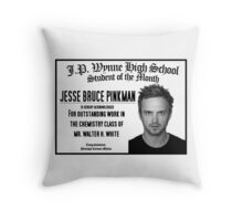 Breaking Bad - Student of the Month Throw Pillow