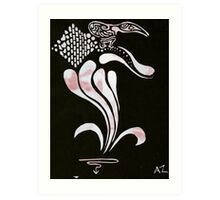 Silkscreens - 0003 - Descent Art Print