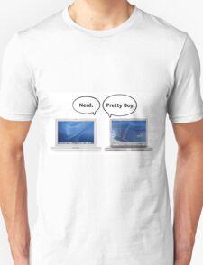 Mac or PC - Nerd, Pretty Boy T-Shirt