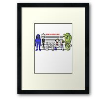 Bustin' Makes Me Feel Good Framed Print