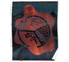 Silkscreens - 0004 - Fire On The Mountain Poster