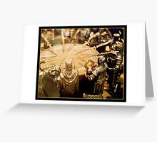 Knights of the round table. Greeting Card
