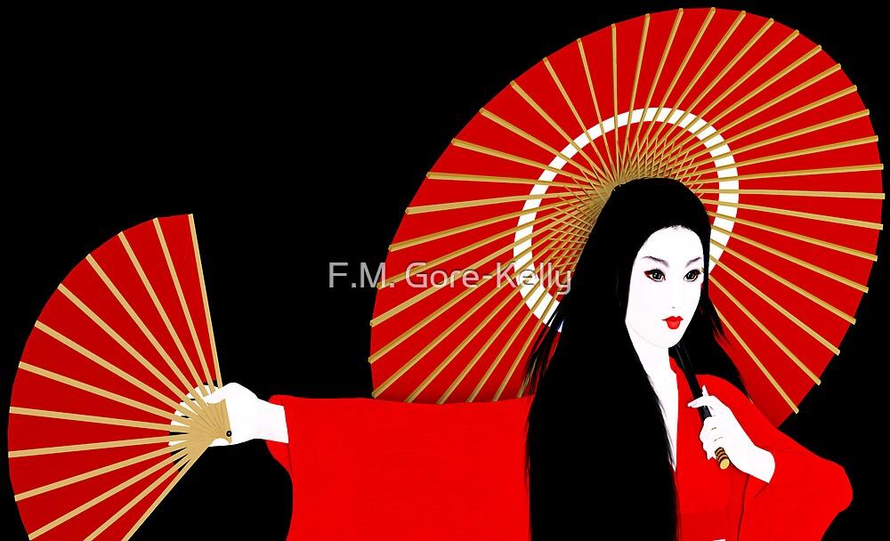 Red Geisha by F.M. Gore-Kelly