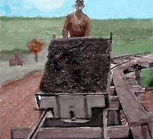 GreatGrandpa Working the Coal Mine by beesplace