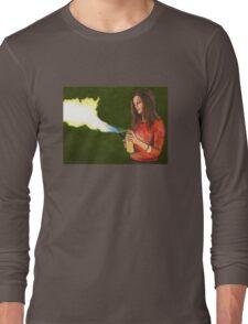 Five by Five - Faith - Angel Long Sleeve T-Shirt