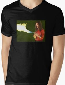 Five by Five - Faith - Angel Mens V-Neck T-Shirt