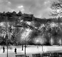 Edinburgh Castle  by Chris Clark