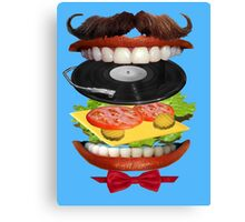 Eat The Sound Canvas Print
