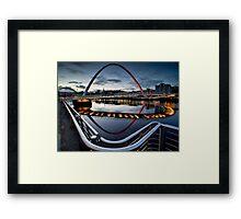 The Gateshead Millenium Bridge Framed Print