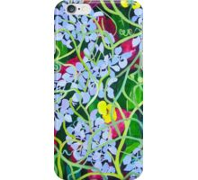 Hydrangea with Buttercups iPhone Case/Skin