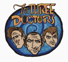 The Three Doctors! One Piece - Short Sleeve