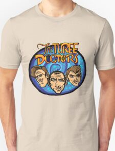 The Three Doctors! T-Shirt