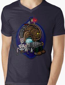 Big Daddy Tatty Mens V-Neck T-Shirt